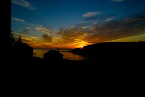 Monhegan Sunset2