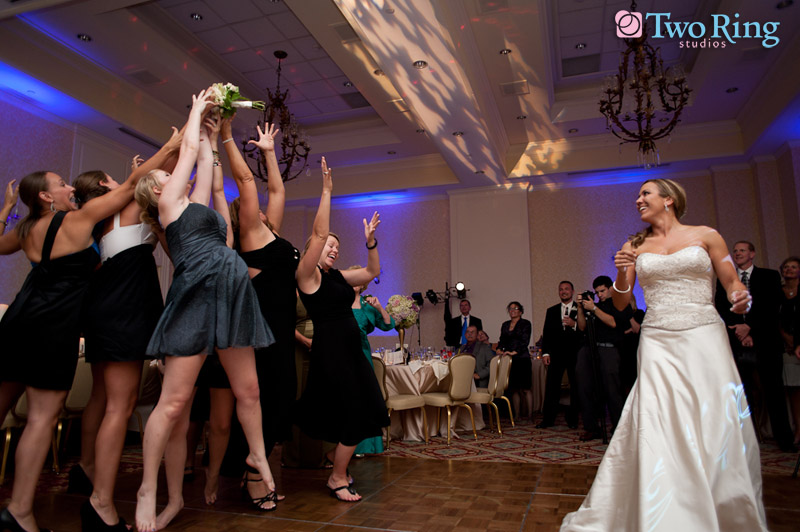 The Wedding Encyclopedia Tossing The Bouquet