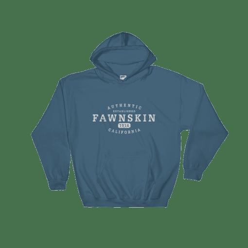 Authentic Fawnskin Hooded Sweatshirt