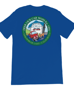 Deer Lick Car Wash T-Shirt Rear