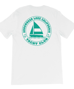 Arrowbear Lake Yacht Club T-Shirt Rear