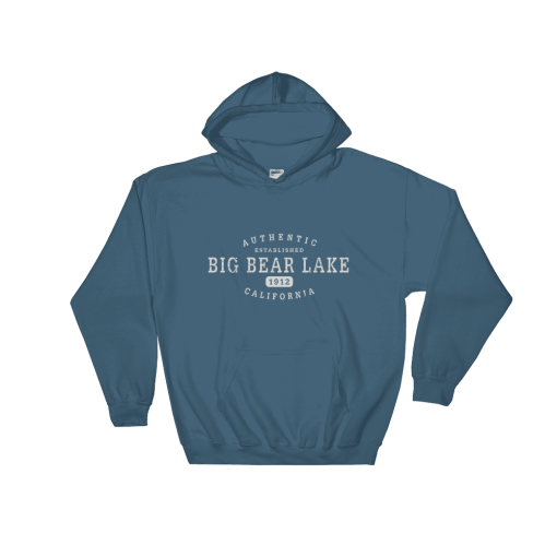 Authentic Big Bear Lake Hooded Sweatshirt