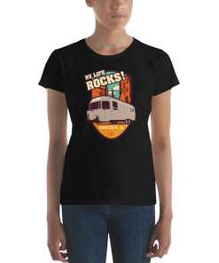 RV Destination Quartzsite Life Rocks T-Shirt