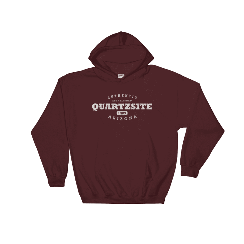 Authentic Quartzsite Hooded Sweatshirt