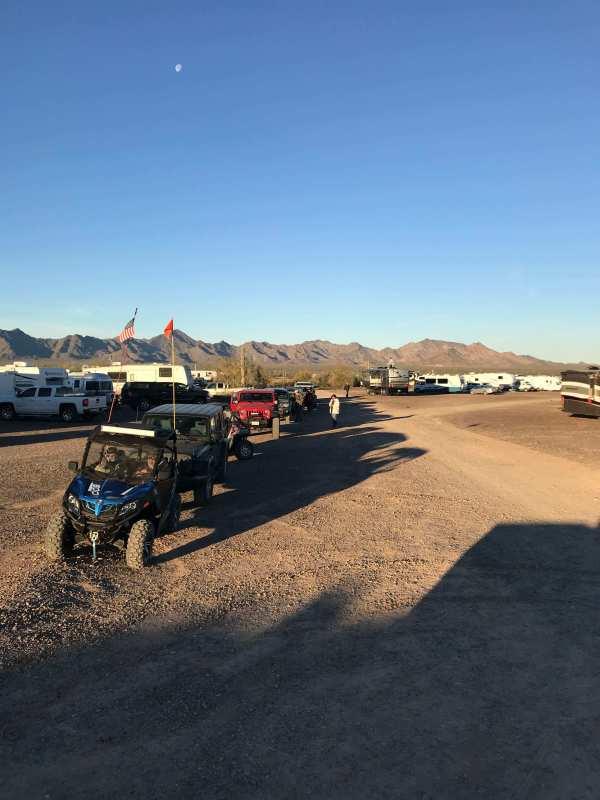 Quartzfest 2019 Jeep Tour Line Up