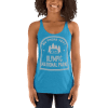 RV There Yet? Olympic National Park Racerback Tank (Women's) Vintage Turquoise