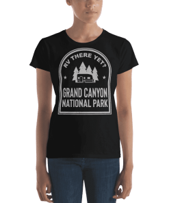 RV There Yet? Grand Canyon National Park T-Shirt (Women's) Black