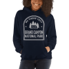RV There Yet? Grand Canyon National Park Hooded Sweatshirt (Unisex) Navy
