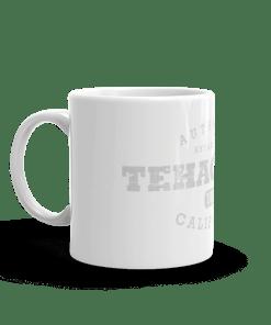 Authentic Tehachapi Camp Mug 11oz Handle Left