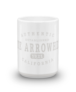 Authentic Lake Arrowhead Camp Mug 15oz End