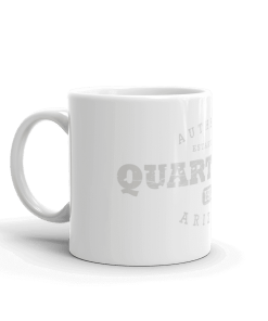 Authentic Quartzsite Camp Mug 11oz Handle Left