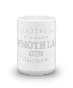 Authentic Mammoth Lakes Camp Mug 15oz End