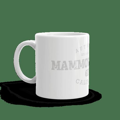 Authentic Mammoth Lakes Camp Mug 11oz Handle Left