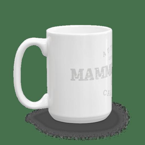 Authentic Mammoth Lakes Camp Mug 15oz Handle Left