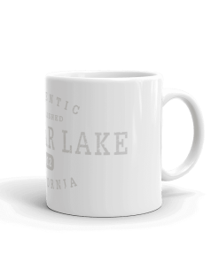 Authentic Big Bear Lake Camp Mug 11oz Handle Right