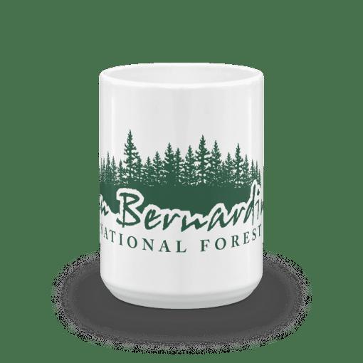 Authentic San Bernardino National Forest Camp Mug 15oz End