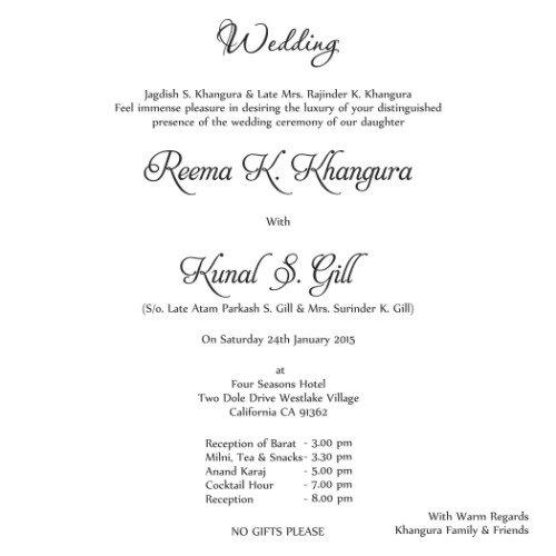 Spanish Foreign Language Letterpress Wedding Invitation