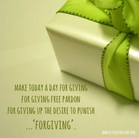 forgiving