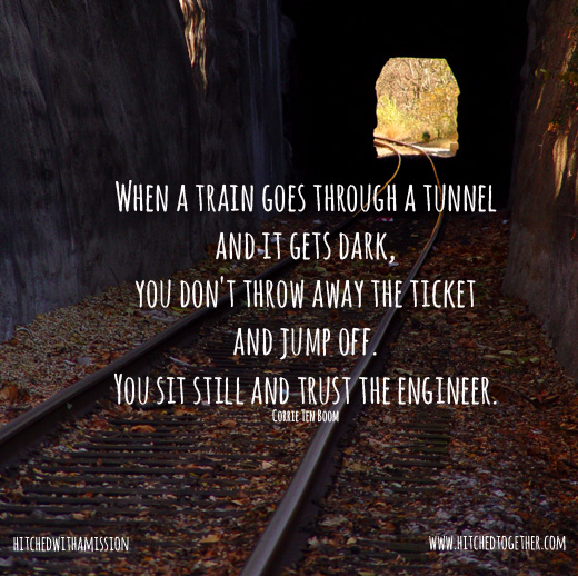 4 Things to Do When Your Ministry is in a Tunnel