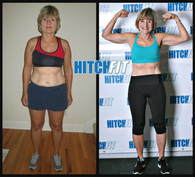 Lose Weight Over 60 - Before and After Pictures - Nancy