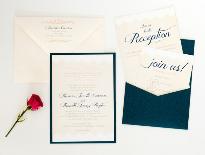 twelve30 creative how to mail wedding invitations - How To Mail Wedding Invitations