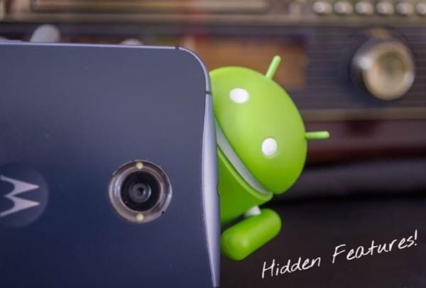 Hidden Features For Android Phones