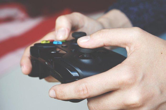 Video Game Controller - Image by Anton Porsche