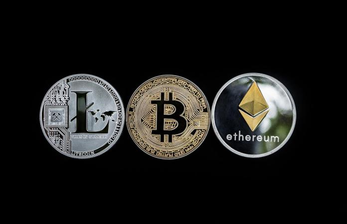 Cryptocurrency Coins - Image by WorldSpectrum