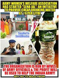 Sena Jal by Wives of Army Official
