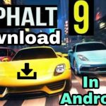 How to download asphalt 9