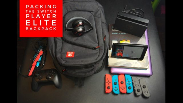 Image result for nintendo switch elite player backpack