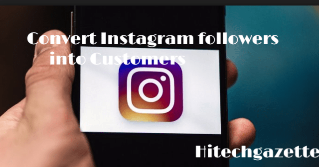 convert followers into customers