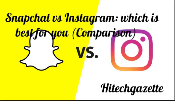 Snapchat vs Instagram: which is best