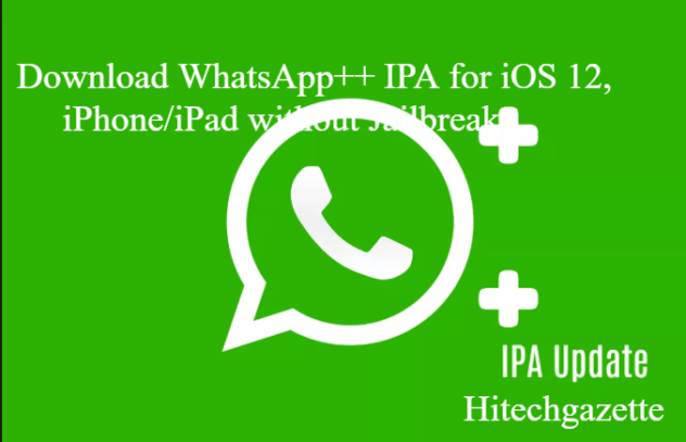 Download WhatsApp++ IPA for iOS 12 without jailbreak