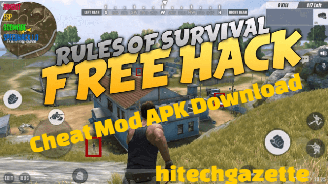 download and install the Rules Of Survival Hack Mod Apk on Android