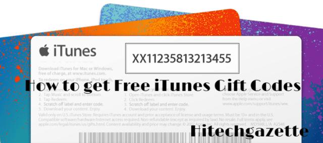 How to get Free iTunes Gift Codes 2019 best ways