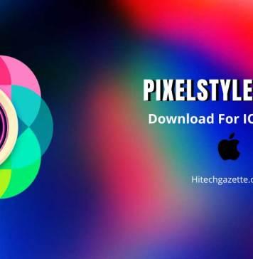 Pixelstyle photo editing app
