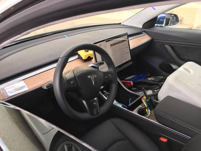 Tesla Model 3 Leaked Interiors