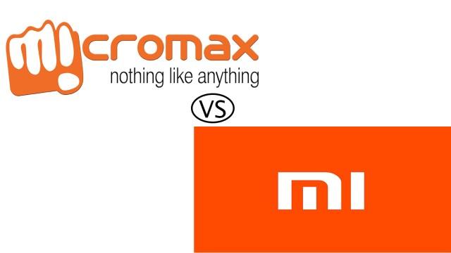 Micromax Canvas Infinity vs Xiaomi Mi