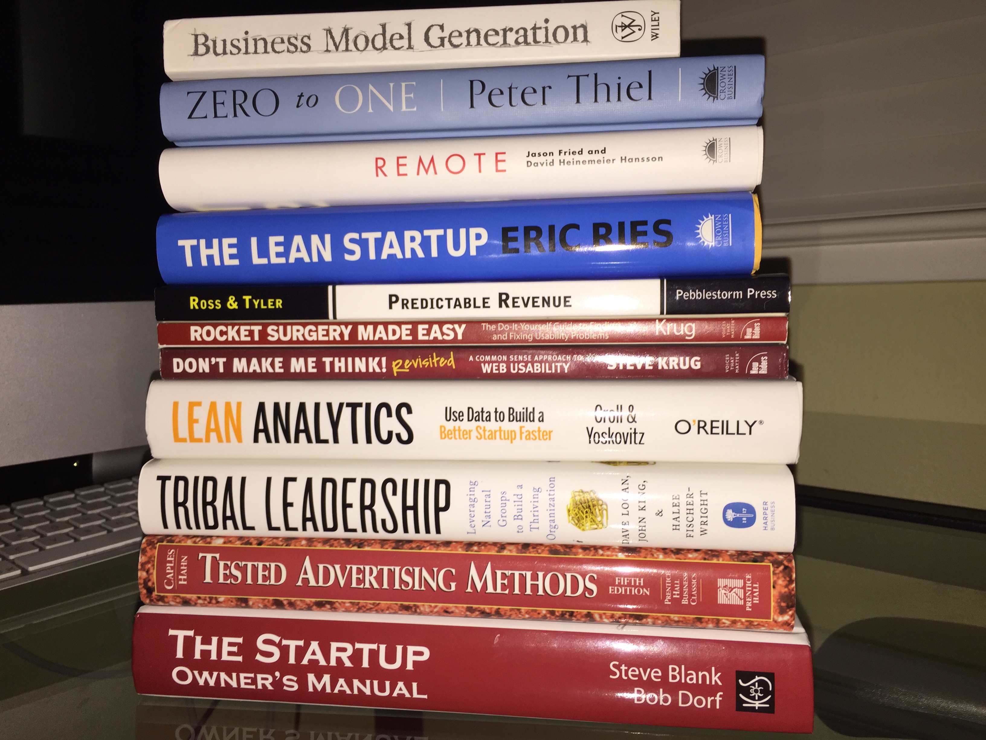27 books every startup ought to read