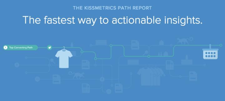 KISSmetrics Path Report