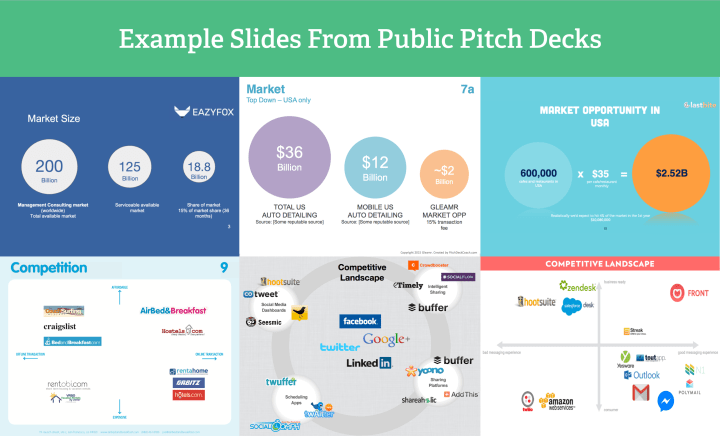 example pitch deck slides