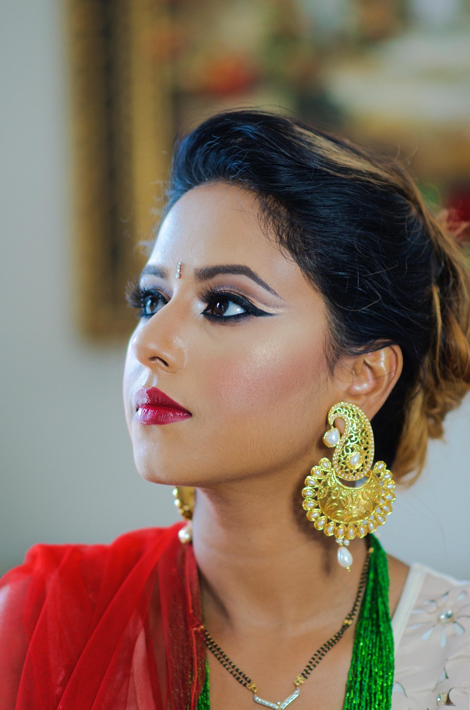 Hindu Festival Teej Makeup Look Indian Bridal Makeup
