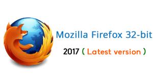 Firefox 32 bit