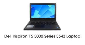 Inspiron 15 3543 laptop