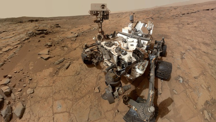 Mars Curiosity Photo Gallery