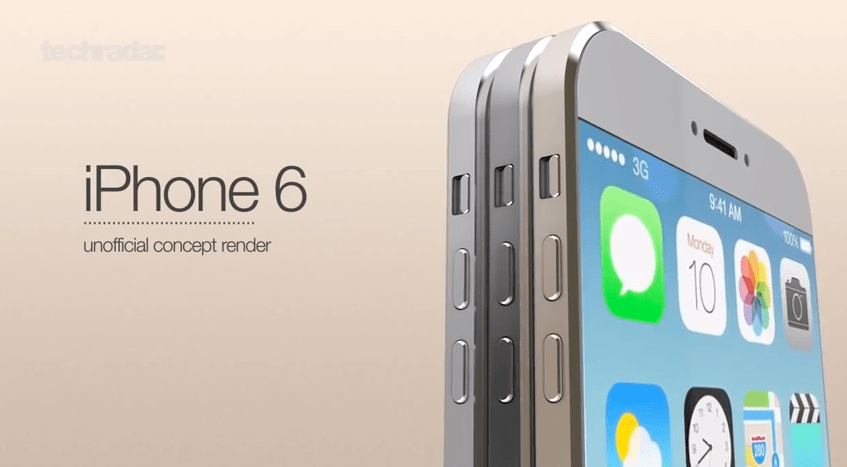 iPhone 6 Unofficial Concept Render