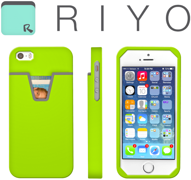 Riyo iPhone wallet case