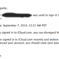 iCloud Is Accessed from the Web