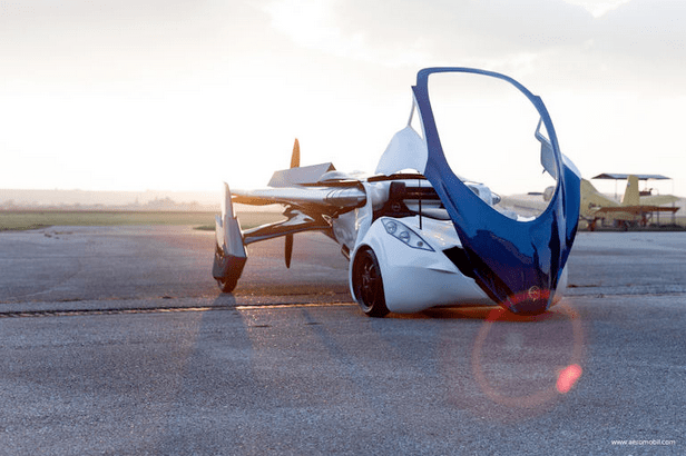 AeroMobil self-flying car